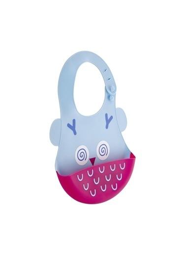 BabyJem Babyjem Silikon Önlük Mavi Renkli